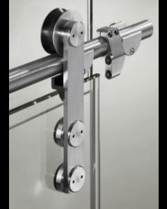 Sistema Puerta Corrediza Cristal BDH-A18 2 MTS