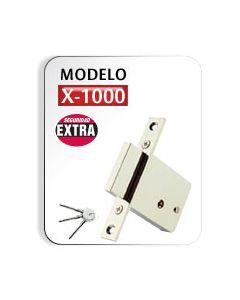 Cerradura Mod. X-1000 Cromada